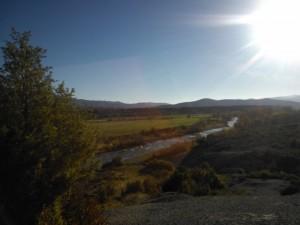 Río Subordán a su paso por Javierregay